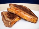 Chile Garlic Grilled Cheese Sandwich