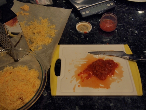 Preparing Pimento Cheese
