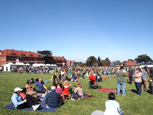 Off the Grid Picnic at the Presidio
