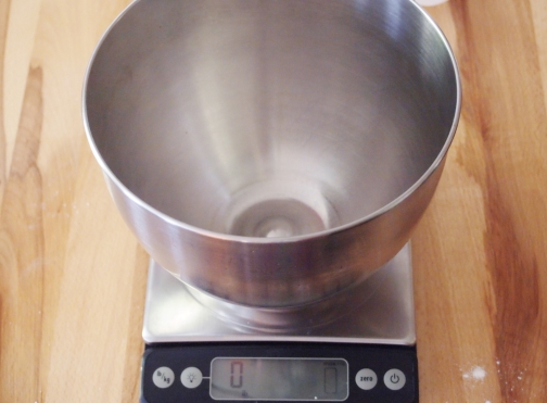 Measure by Weight Bowl