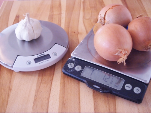 OXO and Salter scale