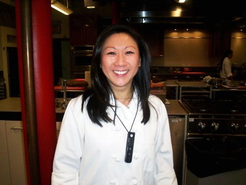 JD in the test kitchen