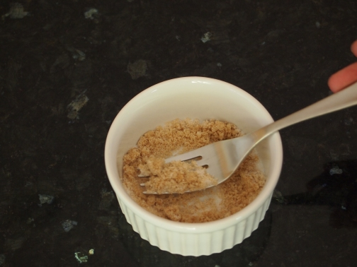 White and brown sugar mixture