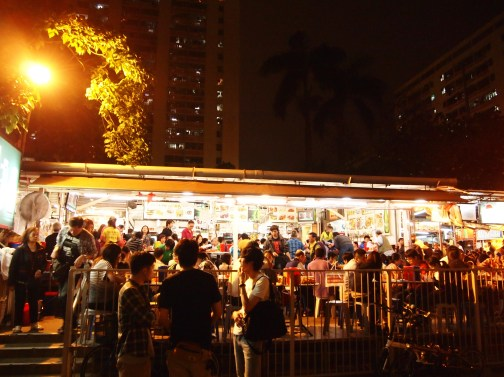 Wo Che Estate Market Food Stalls Sha Tin