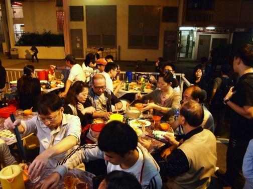 Dining scene Wo Che Estate Market Food Stalls Sha Tin