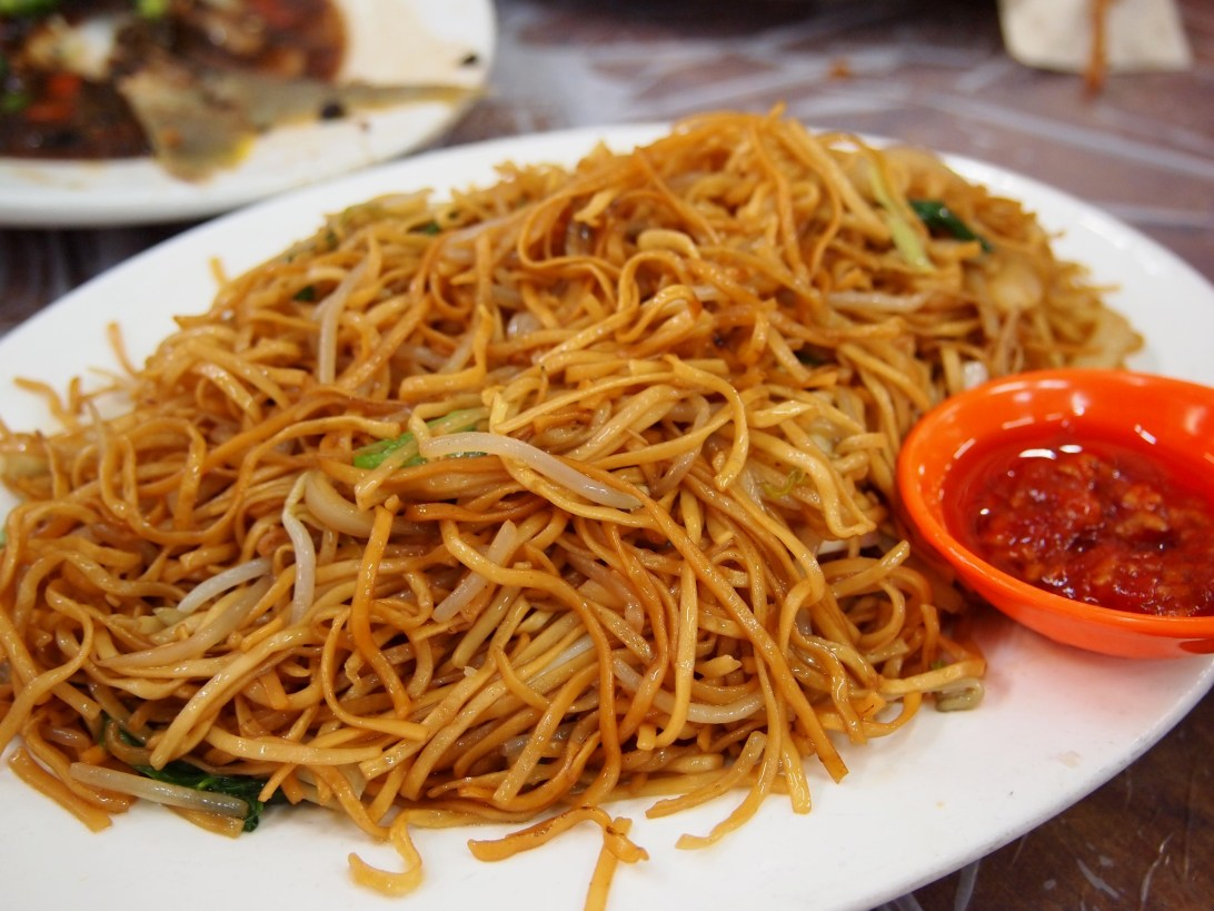 Chow Mien at Wo Che Estate Market Food Stalls Sha Tin