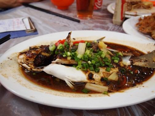 Whole Pompano at Wo Che Estate Market Food Stalls Sha Tin