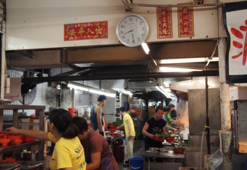 Chan Kun Kee Kitchen at Wo Che Estate Market Food Stalls Sha Tin